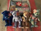 TY Beanie Baby Official Club Kit Platinum and Clubby I II III VI New MWMT