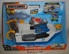 MATCHBOX MARINE SHARK SHIP WATER RESCUE MISSION FLOATS CAR BOAT LAND PLAYSET
