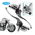Brake Master Cylinder&Clutch for Honda Shadow 1300 VTX1800 VT1100 VT750 CHROME