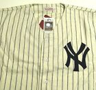 MICKEY MANTLE #7 NEW YORK YANKEES MITCHELL & NESS 1952 JERSEY 3XL 56 NEW NWT NY