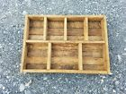 Vintage Antique Primitive Country Barn Farm House Decor Wood Shelf Folk Art Old