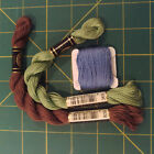 Lot Of 3 Skeins DMC Cotton Perle Pearl 5 Embroidery Needlepoint Thread
