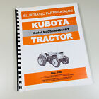KUBOTA M4050 M4050DT TRACTOR PARTS ASSEMBLY MANUAL CATALOG EXPLODED VIEW NUMBERS