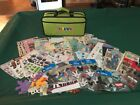HUGE Lot of Scrapbooking Stickers  Die Cuts with Carrying Case