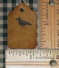 100 XSMALL~ CROW AT TOP ~  PRIMITIVE antique store price HANG TAGS LOT  A57