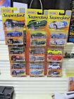Matchbox 2005 ROW EUROPE Set OF 12 WAVE A Superfast New Mint in Nu Mint Packages