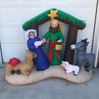 6 Nativity Airblown Inflatable By Gemmy Never Used