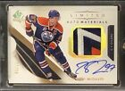 17-18 SP Authentic CONNOR MCDAVID Limited Auto Materials 10!! 3 COLOR SICKNESS