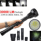 XLightFire 340000 Lumens 14x CREE XML T6 5 Mode 18650 Super Bright LED Flashligh