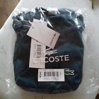 Lacoste Mens Womens Crossover Shoulder Bag Blue Travel Unisex BNWT Camera Mini