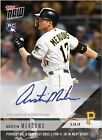 2018 TOPPS NOW Austin Meadows 99 RC Auto Debut 2 Of 4 Hit Autograph Pirate