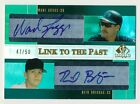 2004 SP Prospects WADE BOGGS REID BRIGNAC RC Link to the Past Dual Auto # 50