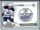 Ryan Nugent-Hopkins 13 14 SP Authentic Sign of the Times Autograph