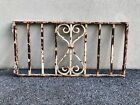 Antique Victorian Iron Gate Window Garden Fence Architectural Salvage 66 Pounds