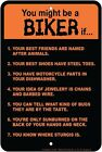 You Might Be Biker sign 8x12 for fan of STURGIS Motorcycle Rally