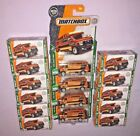 2018 MATCHBOX 95 CUSTOM CHEVY VAN BIG LOT OF 16 POWER GRABS  CARDED NEW