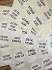 63 Pc 1 SLIME NAME stickers Great for your slime Containers