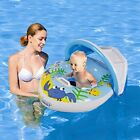 Baby Inflatable Float With Handle Toddler Swimming Pool Floaties Water Ride Toy