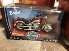 Barbie Harley Davidson Fat Boy Motorcycle 16 Scale 1999