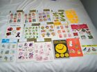Vintage Hallmark stickers Seals packages  all incomplete and opened 24