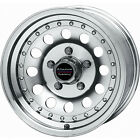 14x6 Machined American Racing Outlaw II Wheels 5x45 +6 Lifted FORD RANGER