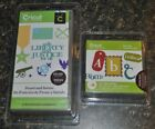 2 Brand New Sealed Cricut Cartridges Stand  Salute and Base Camp Military Theme