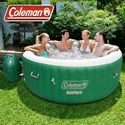 Coleman SaluSpa 4-6 Person Inflatable Portable Massage Hot Tub Spa Rapid Heating