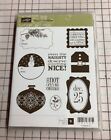 Stampin Up Clear Stamps Tags Til Christmas