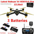 Hubsan X4 H501S S PRO Drone 58G FPV Brushless 1080P CAM GPS Quadcopter+3Battery