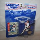 1997 Starting Lineup JAVIER JAVY LOPEZ Atlanta Braves Action Figure Card MOMC