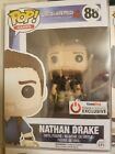 FUNKO POP! NATHAN DRAKE UNCHARTED 4 GAMESTOP EXCLUSIVE #88 WITH PROTECTOR
