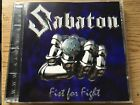 SABATON - FIST FOR FIGHT 2001 RARE! POWER METAL Orden Ogan Kamelot Running wild