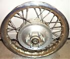 68 69 SEARS ALLSTATE GILERA 106 SS REAR WHEEL SPOKES HUB SOLID