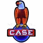 Case Eagle Logo IH Licensed Neon Light Sign In steel Cans 30