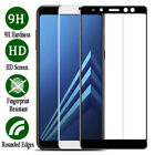 For Samsung Galaxy A6 A8 A8Plus 2018 Full Cover Tempered Glass Screen Protector