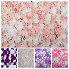 10x ARTIFICIAL FLOWER ROSEHYDRANGEA WALL PANEL WEDDING BACKGROUND BACKDROP
