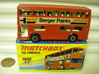 MATCHBOX MB17B BERGER PAINTS BUS UNPAINTED BASE DotDash Whls +AXLE Braces MIMB