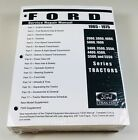 Ford 2000 3000 4000 5000 7000 (3400-5550) Tractor Service Shop Manual 1965-1975