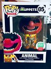 Funko Pop Animal Flocked #05 Disney The Muppets Funko Exclusive w Protector
