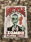 Bicycle Zombie Playing Cards Standard Size Cushion Finish 2012 NISB