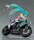 Officially Licensed SET of 2 Racing Miku Figma with TT Zero 13 Motorcycle