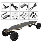 35km h Wireless Electric Powered Skateboard 4 Wheels Longboard W Remote Control