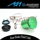 CNC Rear Brake Reservoir Oil Tank Fit Kawasaki Z1000 Ninja ZX6R ZX10R ZZR1400