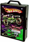 Monster Jam Truck Case Hot Wheels Stores 15 Toy Vehicles Truck with Carry Handle