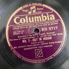 78 rpm OUT IN INDIAH / NAPOLEONS RETREAT FB 2717