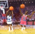 1988 Jeff Malone & 94 Calbert Cheaney Bullets Starting Lineup loose lot Mint/Nm