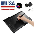 """Huion H610 Pro+ Graphics Tablet + Wireless Muse Pen 10""""x6.25""""Display Drawing Art"""