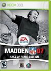 Madden NFL 07 Hall of Fame Edition (MP, 2006, Complete CIB) - Xbox 360 Video Gam
