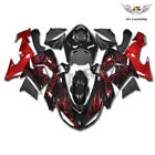 Fit for Kawasaki ZX10R 2006 2007 Red Flame Injection Fairing Kit Plastic c008