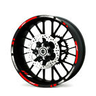 For Yamaha YZF-R1 Motorcycle 3M Rims Tape Wheel Rim Decal Stripes Sticker YZF R1